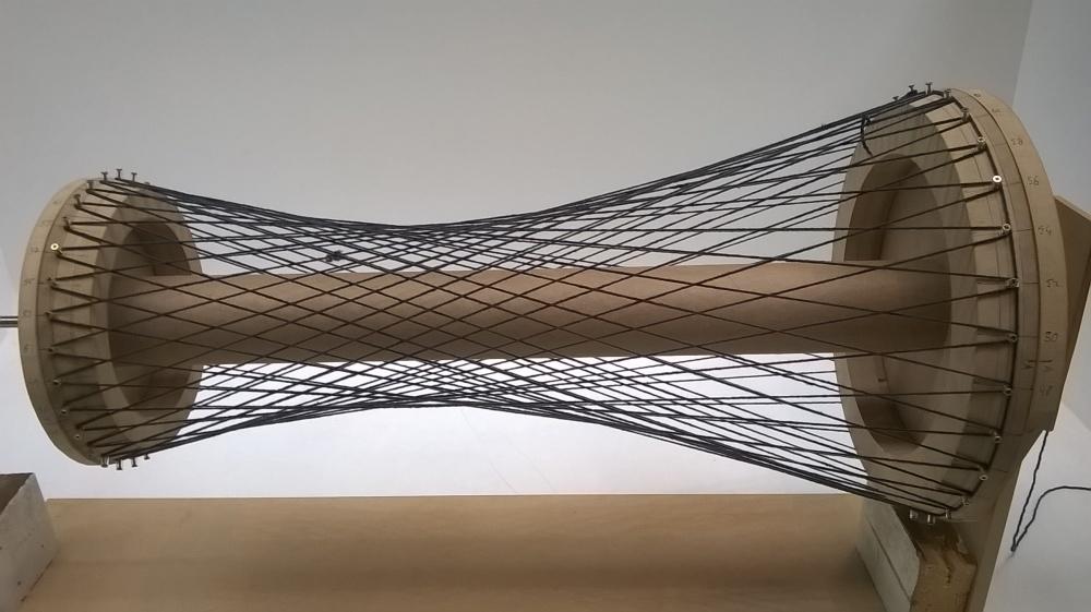 Acrilic fibre model